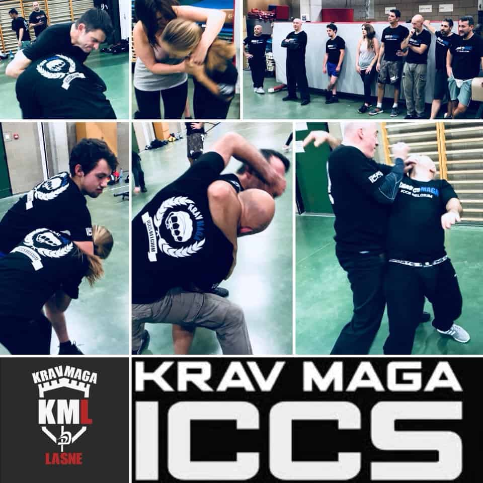 Krav maga lasne 18 - Des élèves de Sport Village de Lasne