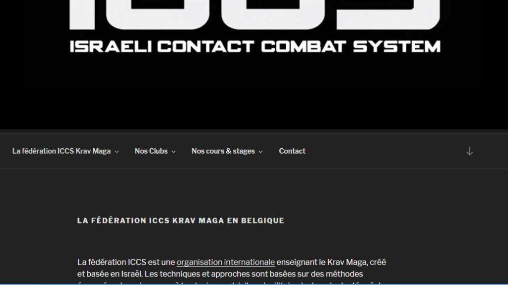 iccs KRAV MAGA BELGIUM 1024x575 - Le site fédéral ICCS est en ligne !